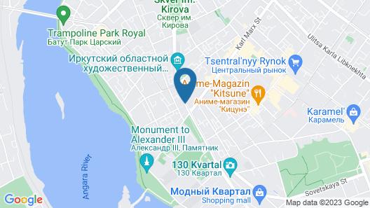 Hotel Amurskiy Map