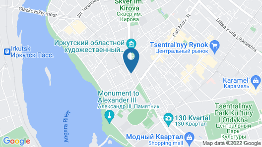 Hostel3952 - Irkutsk on Marata  Map