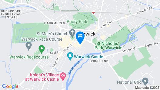 Warwick Castle Knight's Village Map