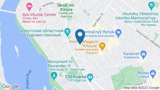 International Hotel Sayen Map