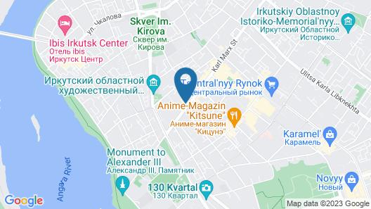 Marx Hotel Map