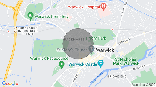 A superior 2 bedroom fully serviced apartment in the heart of Warwick Map