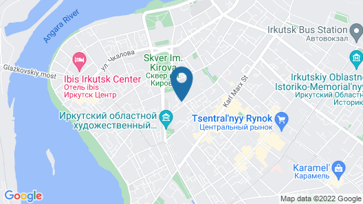 Viva Hostel Map