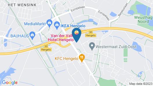 Van Der Valk Hotel Hengelo Map