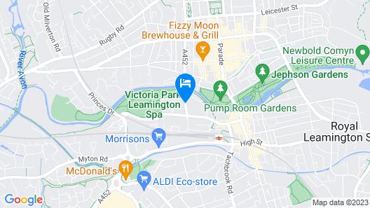 Victoria Park Lodge Map