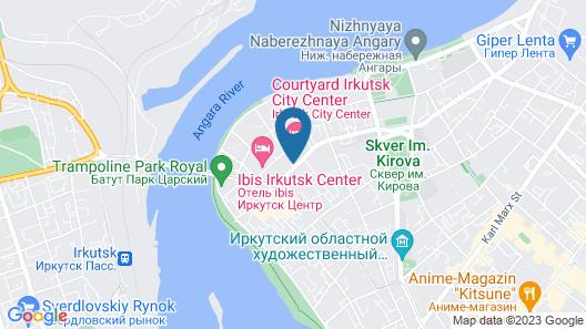 Courtyard by Marriott Irkutsk City Center Map