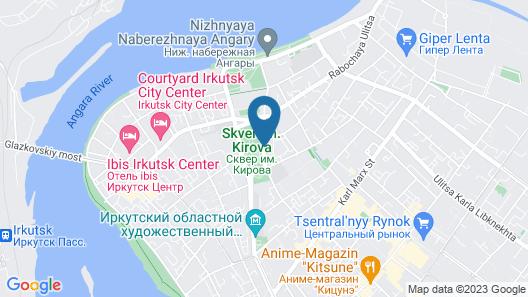 Angara Hotel Map