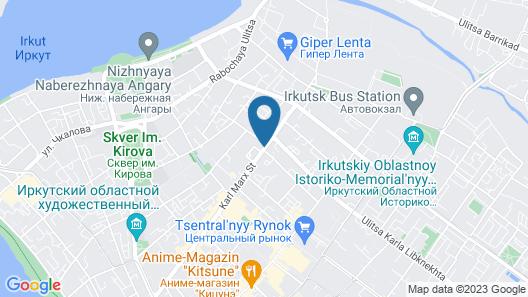 Best in the Center of Irkutsk Map