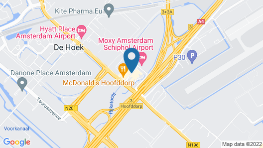 Bastion Hotel Amsterdam Airport Map