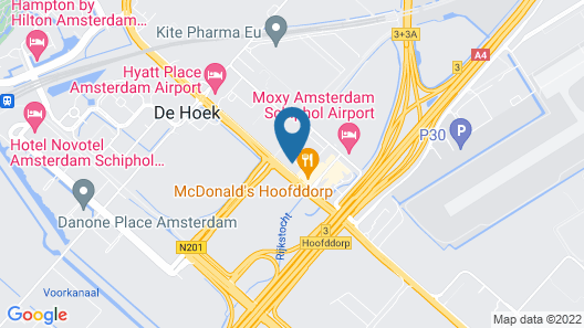 easyHotel Amsterdam Airport Schiphol Map