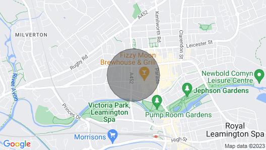 Beautiful , stylish apartment in Leamington Spa Map