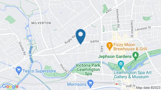 Leamington Spa Warwick Place Apartments Map