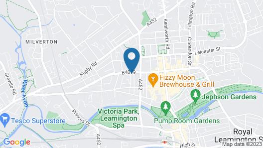Marvel Apartments Map
