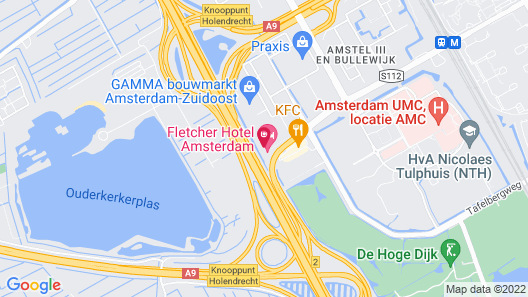 Fletcher Hotel Amsterdam Map