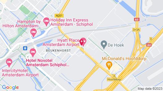 Hyatt Place Amsterdam Airport Map