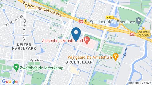 Htel Serviced Apartments Amsterdam Amstelveen Map