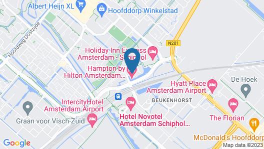 Hampton by Hilton Amsterdam Airport Schiphol Map