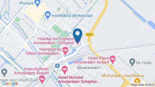 Holiday Inn Express Amsterdam - Schiphol, an IHG Hotel Map