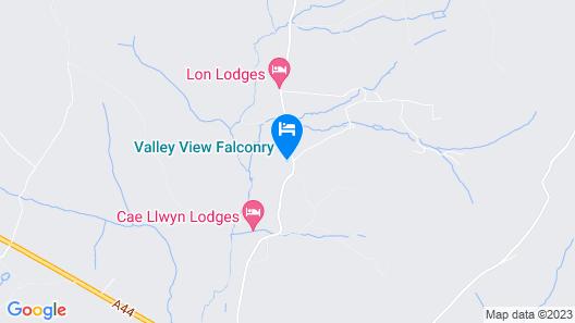 Meadow Shepherds hut Map