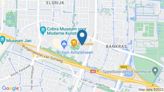 Cityden The Garden Amsterdam South Map