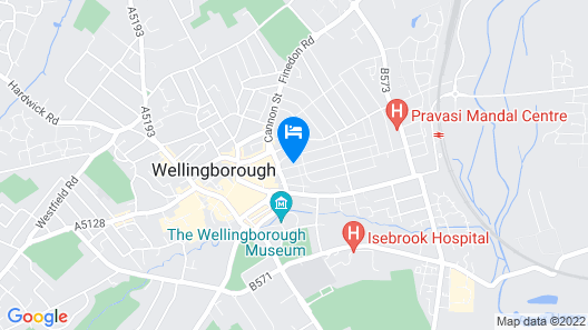 Winstanley House - Wellingborough Map
