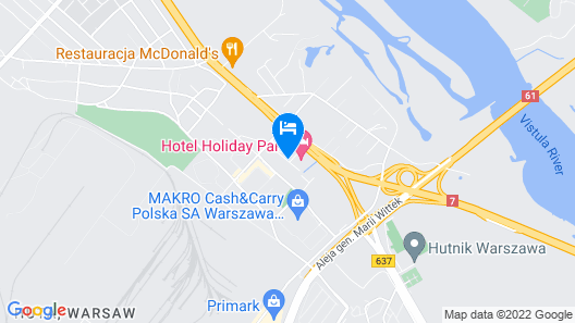 Hotel Holiday Park Map