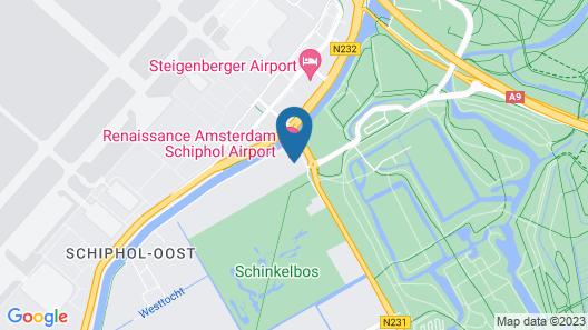 Renaissance Amsterdam Schiphol Airport Hotel Map