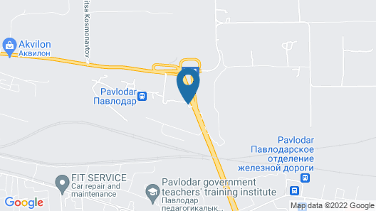 Hotel Dvin Map
