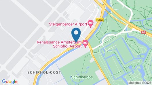 ibis Styles Amsterdam Airport Map