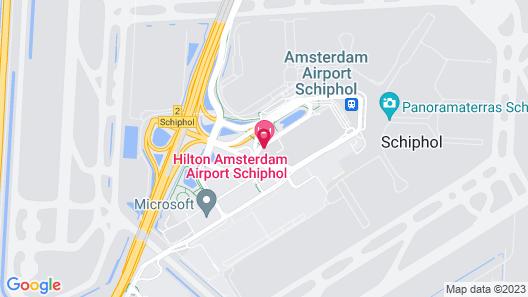 Hilton Amsterdam Airport Schiphol Map