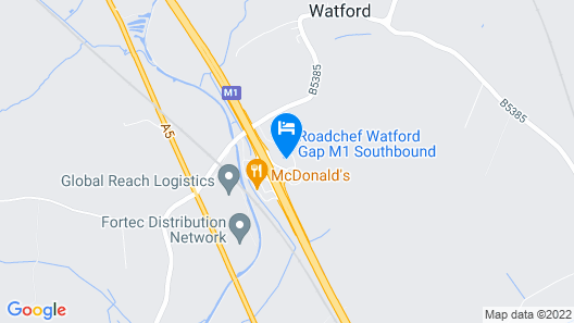 Days Inn by Wyndham Watford Gap Map
