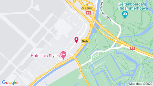 Steigenberger Airport Hotel Amsterdam Map