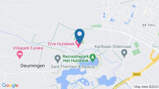 Buitenplaats Erve Hulsbeek Map