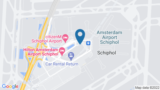 Sheraton Amsterdam Airport Hotel and Conference Center Map