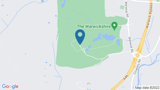 The Warwickshire Hotel and Country Club Map