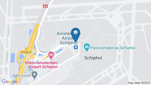 YOTELAIR Amsterdam Schiphol - Transit Hotel Map