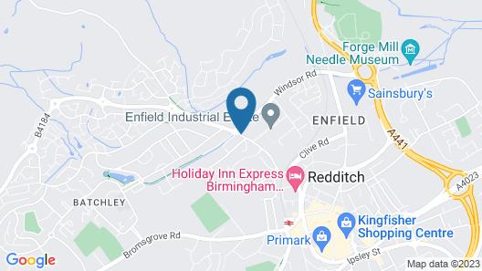 Holiday Inn Express Birmingham Redditch Map