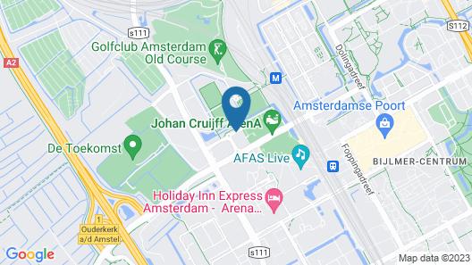 Jaz Amsterdam Map