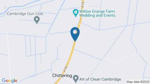 Fenland Retreats at Willow Grange Farm Map