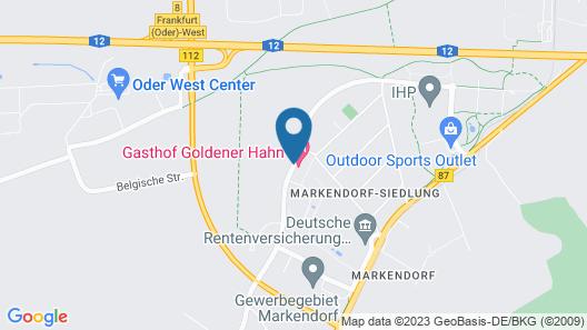Hotel Gasthof Goldener Hahn Map