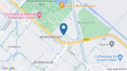Bastion Hotel Schiphol Hoofddorp Map
