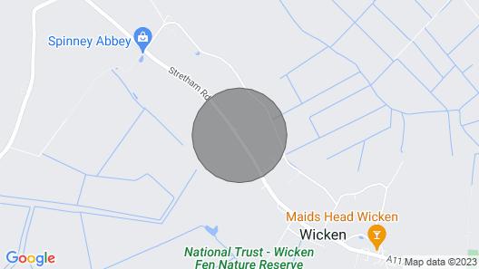 Bittern Cottage Map