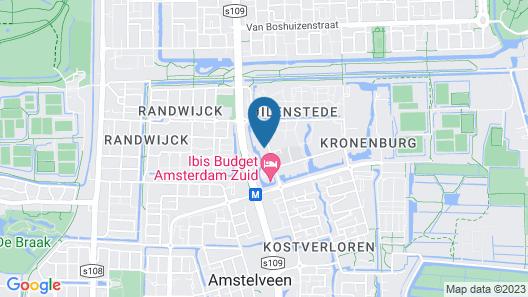 Adagio Amsterdam City South Map
