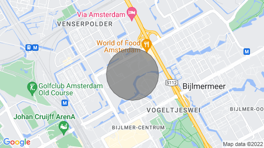 Studio Amsterdamissa! Map