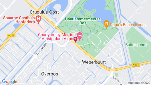 Courtyard by Marriott Amsterdam Airport Map