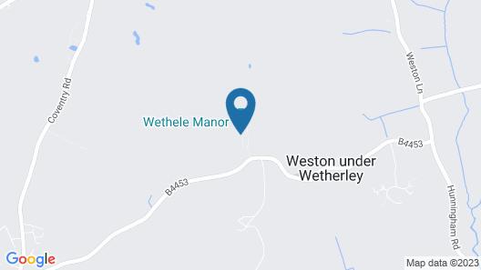Wethele Manor Map