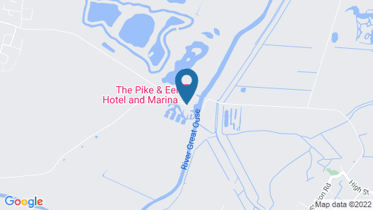 Pike & Eel Hotel and Marina Map