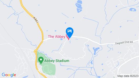 Abbey Hotel Map