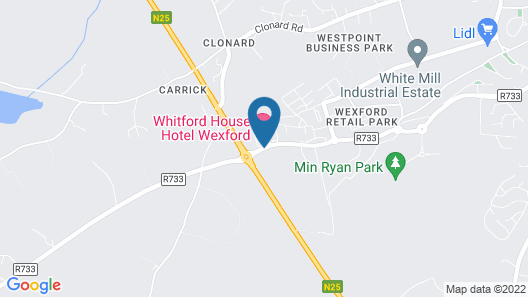 Whitford House Hotel Map