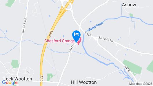 Chesford Grange Map